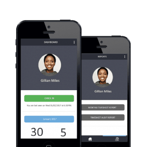 BAS attendance mobile profile