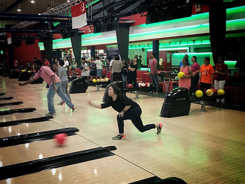 Intercorp home event - Bowling Tournament 10