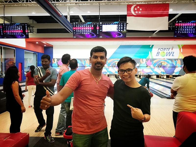Intercorp home event - Bowling Tournament 7