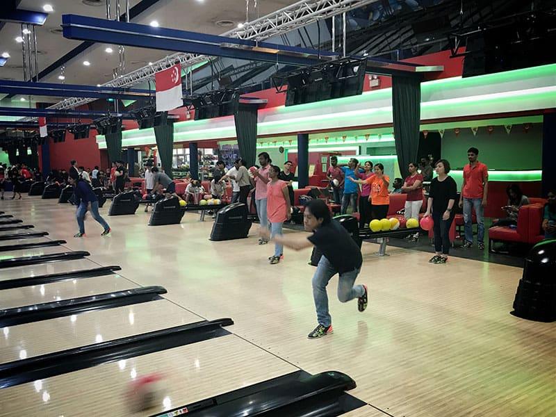 Intercorp home event - Bowling Tournament 9