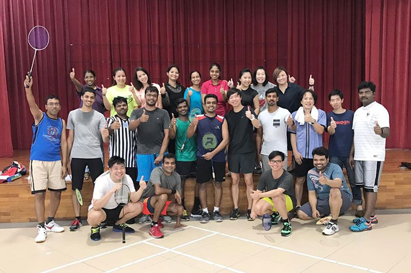 Intercorp Home Event - Badminton Doubles Tournament