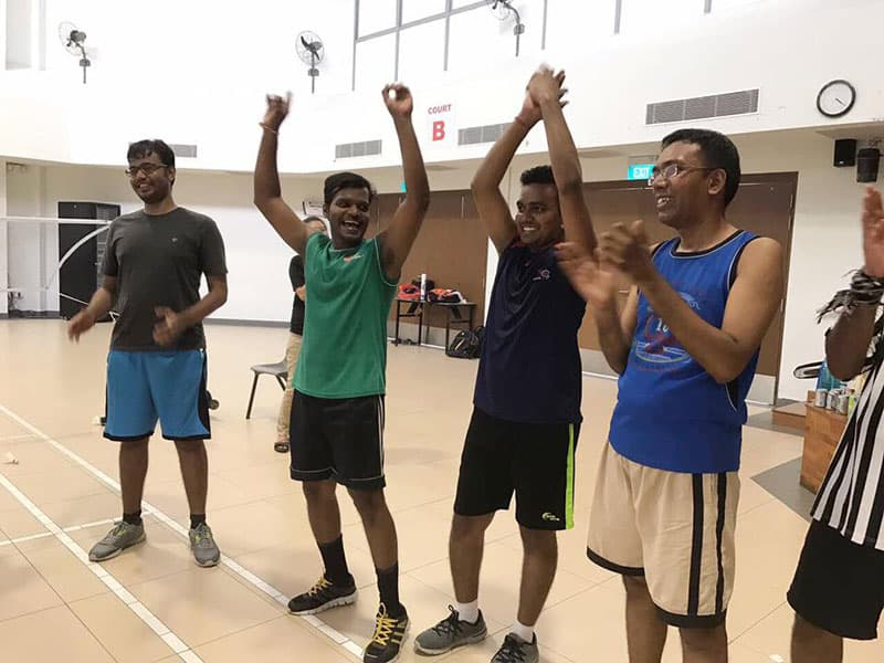 Intercorp Home Event - Badminton Doubles Tournament Players