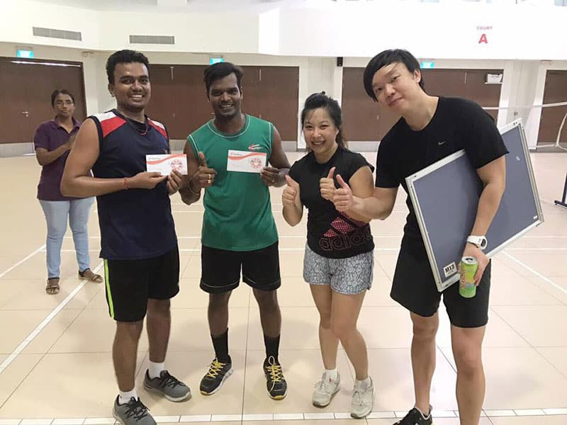 Intercorp Home Event - Badminton Doubles Tournament Winners 3