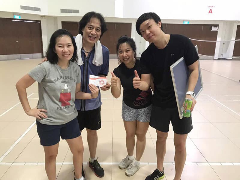 Intercorp Home Event - Badminton Doubles Tournament Team