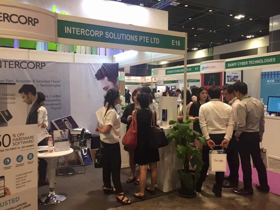 Intercorp Exhibition at SMEICC EXPO 2017, Suntec Convention Hall