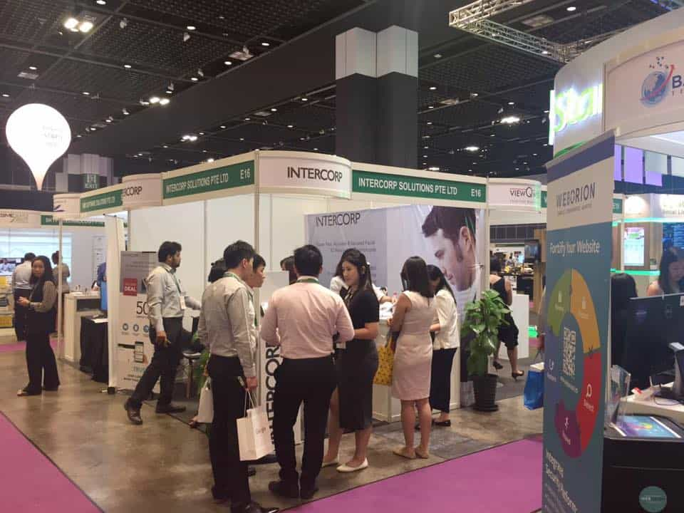 Intercorp Exhibition at SMEICC EXPO 2017, Suntec Convention Hall 2
