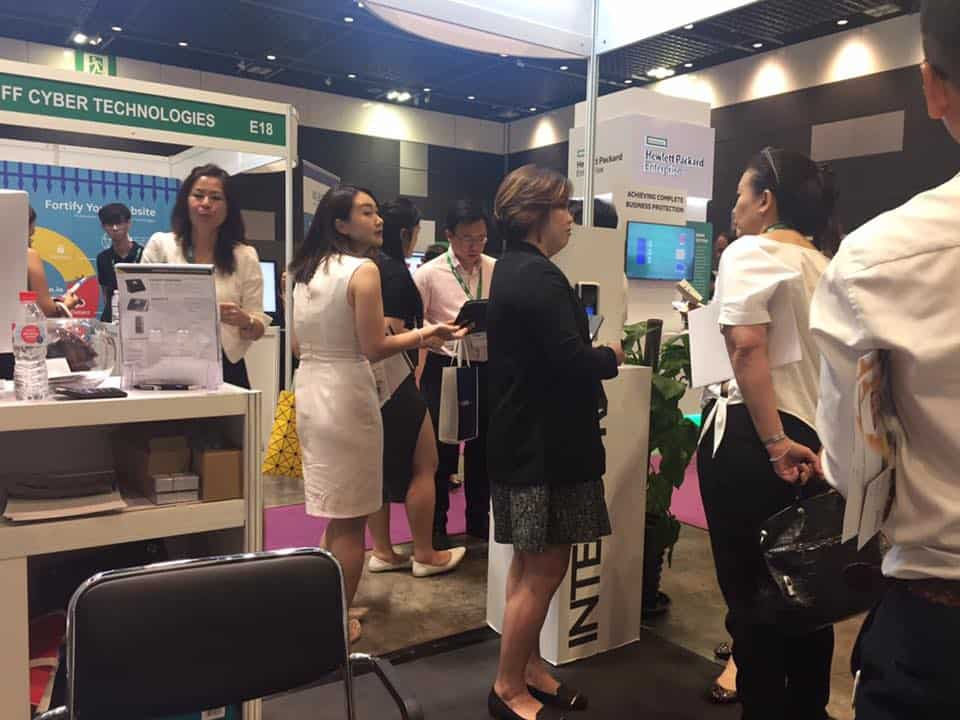 Intercorp Exhibition at SMEICC EXPO 2017, Suntec Convention Hall 4