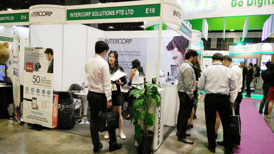 Intercorp Exhibition at SMEICC EXPO 2017, Suntec Convention Hall 5