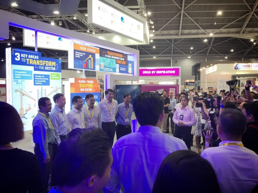 Intercorp Booth Buildtech Asia 2017, Singapore