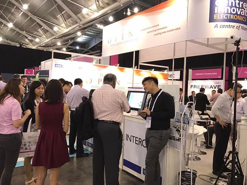 We are at IoT (Internet of Things) Asia 2017 Booth