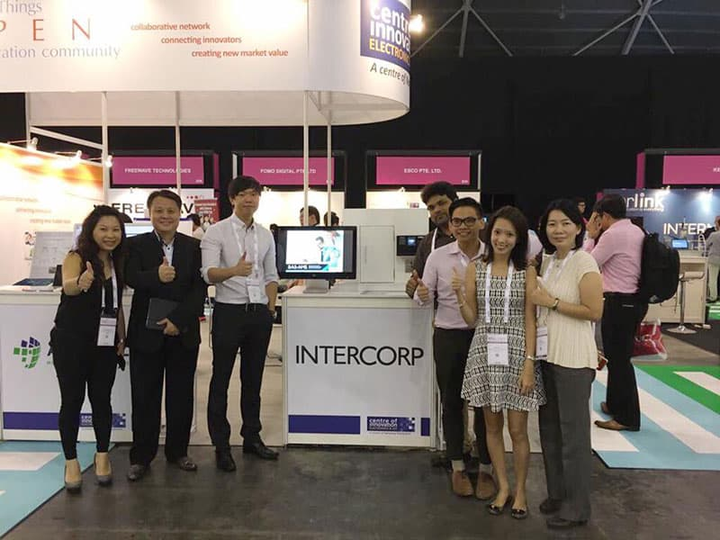 Intercorp Team at We are at IoT (Internet of Things) Asia 2017