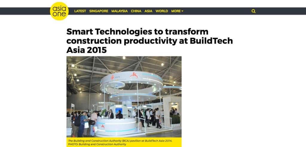 AsiaOne Article: smart technology