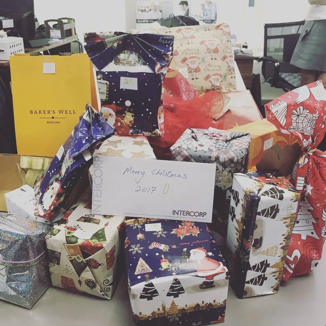 2017 Merry Christmas Gift Exchange