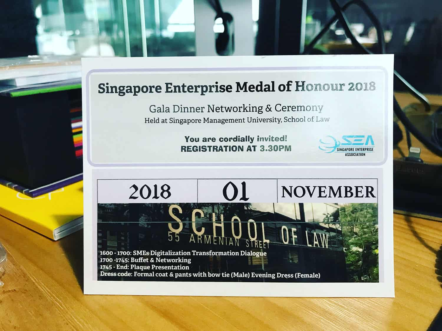 Intercorp is nominated for Singapore Enterprise Medal of Honour 2018!