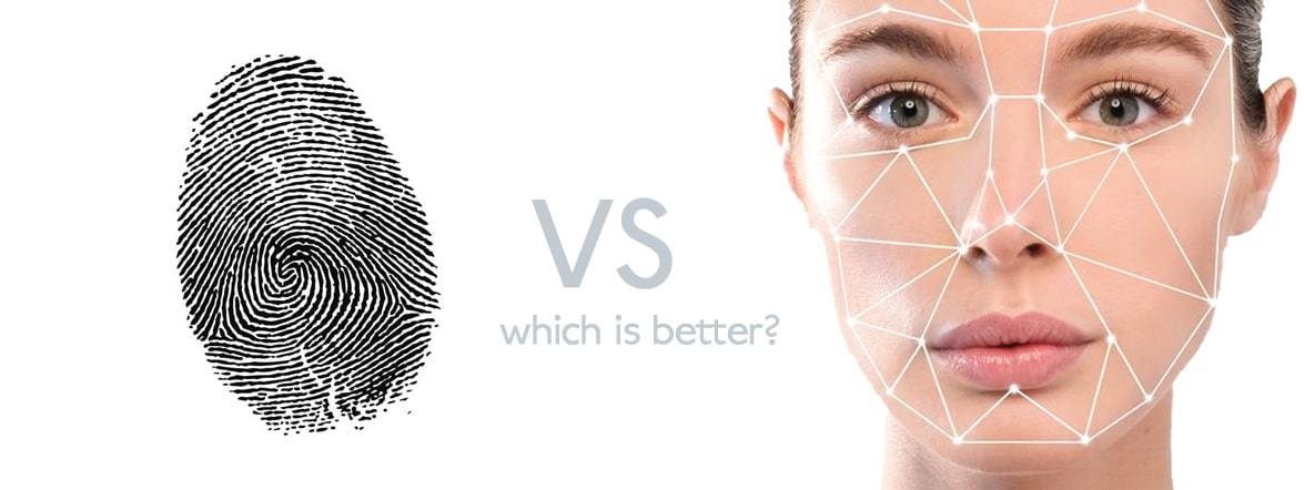Facial recognisation or fingerprint