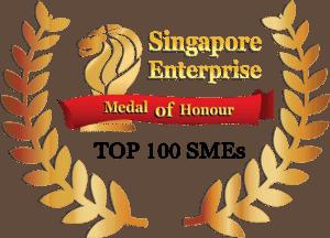 Singapore Enterrprise Medal of Honour TOP 100 SMEs