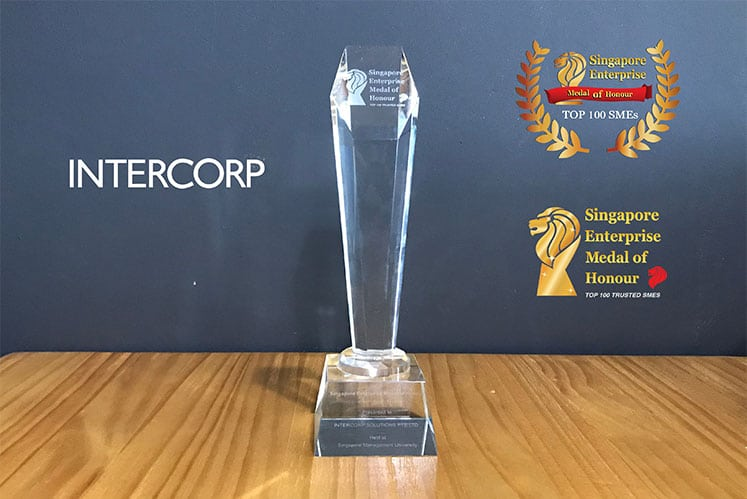 Thank You for making Intercorp a 2018 Top 100 Trusted SME in Singapore!