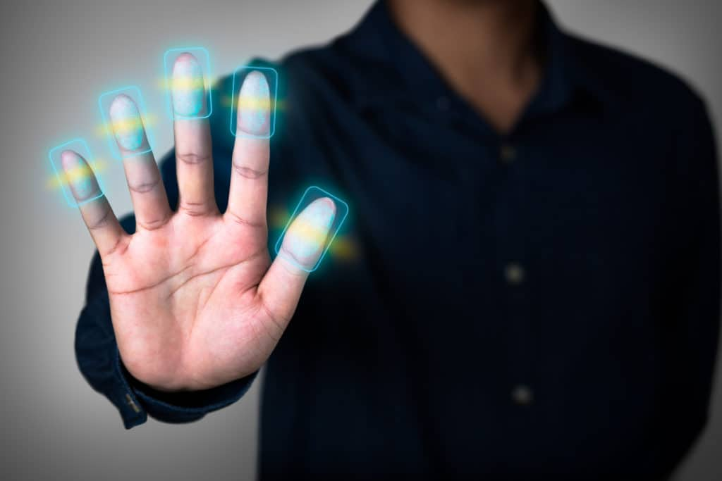 Fingerprint scan the effects of biometrics in banking